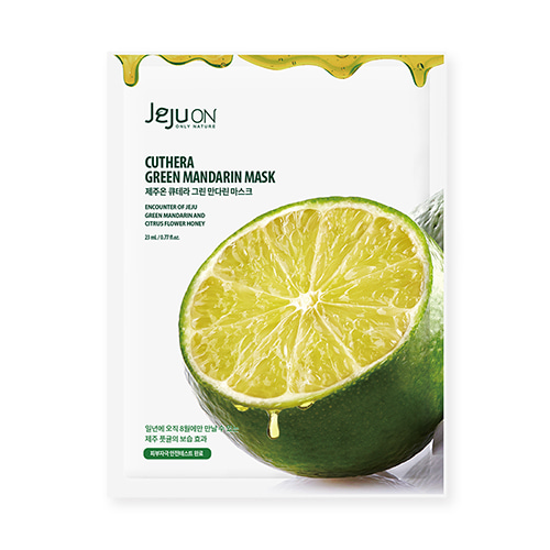 JEJUON Cuthera Green Mandarin Mask 23mL